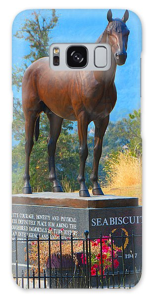 Monument To Seabiscuit Galaxy Case