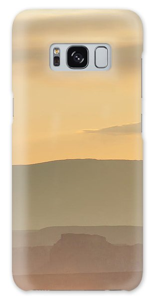 Monument Valley Layers Galaxy Case by Az Jackson