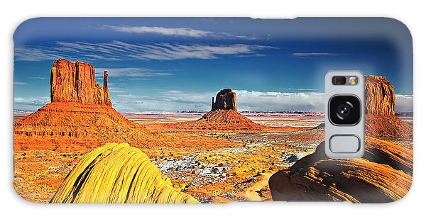 Monument Valley Mittens Utah Usa Galaxy Case