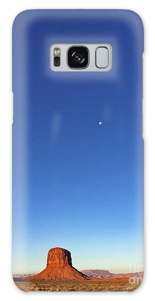 Monument Valley Morning View Galaxy Case