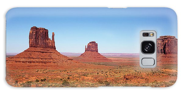 Monument Valley Utah The Mittens Galaxy Case