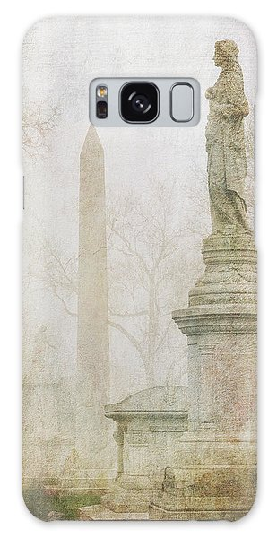Galaxy Case featuring the photograph Monumental Fog by Heidi Hermes