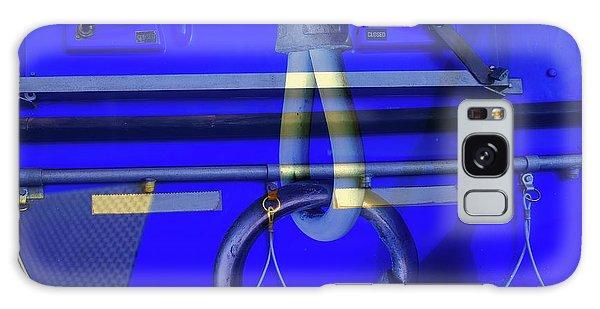 Mood Blue Galaxy Case by Wayne Sherriff