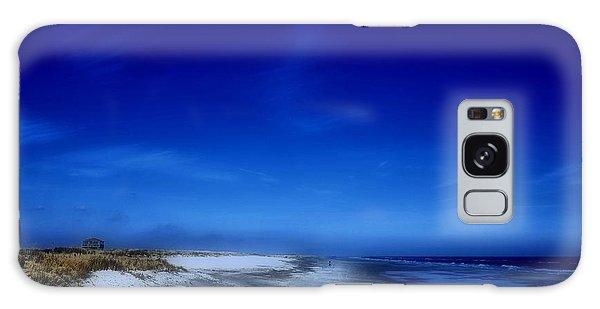 Mood Of A Beach Evening - Jersey Shore Galaxy Case