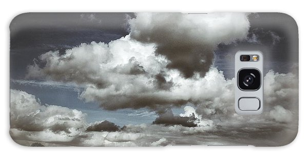 Moodiness In The Clouds Galaxy Case by Karen Stahlros