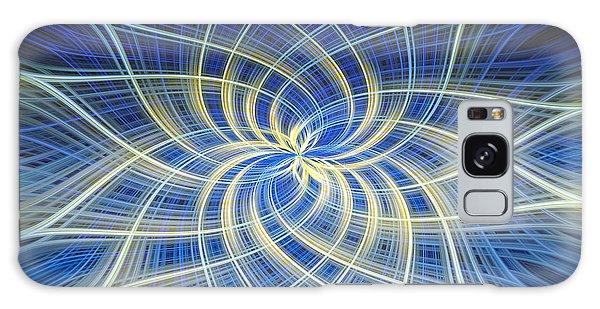 Moody Blue Galaxy Case by Carolyn Marshall