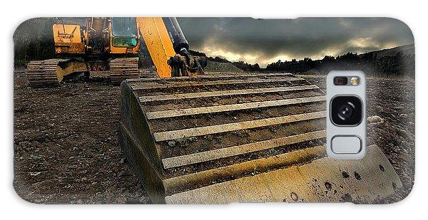 Excavator Galaxy Case - Moody Excavator by Meirion Matthias
