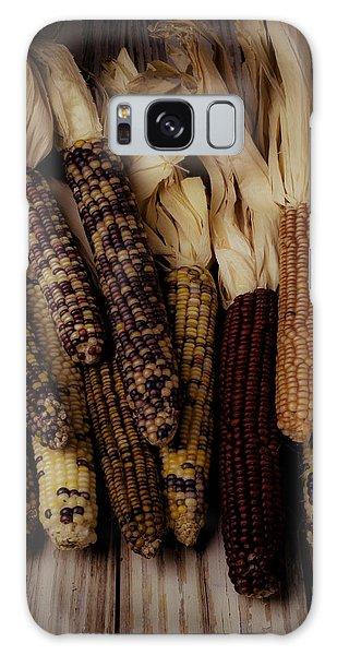 Indian Corn Galaxy Case - Moody Indian Corn by Garry Gay