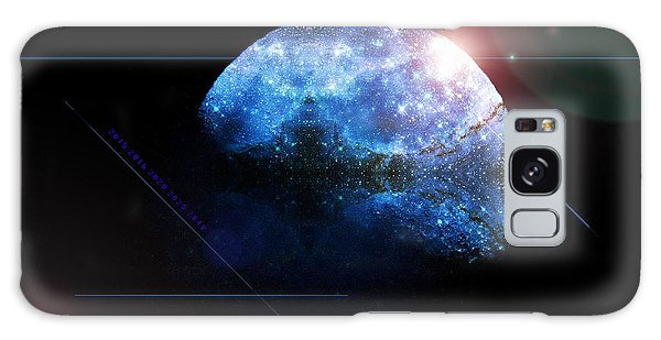 Moon All Lit Up Galaxy Case