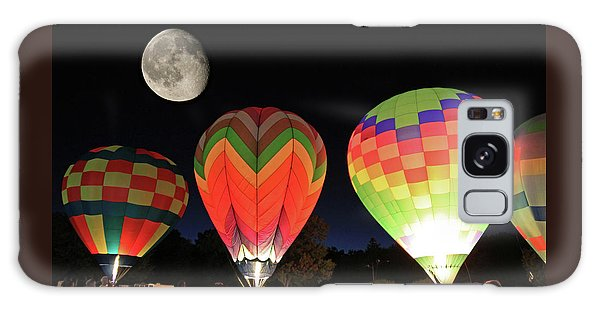 Moon And Balloons Galaxy Case