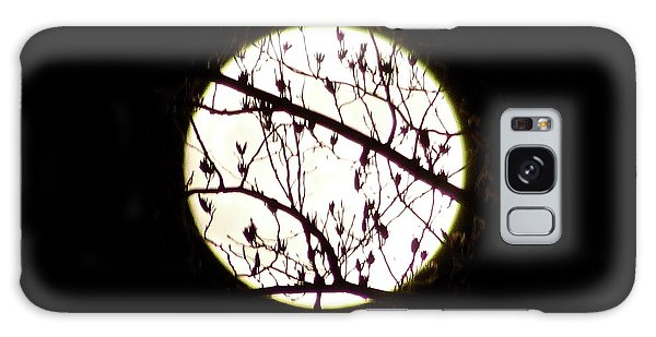 Moon Branches Galaxy Case