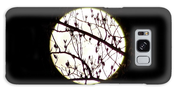 Moon Branches Galaxy Case