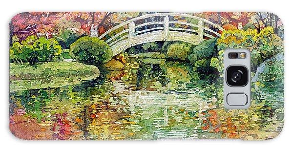 Botanical Garden Galaxy Case - Moon Bridge by Hailey E Herrera