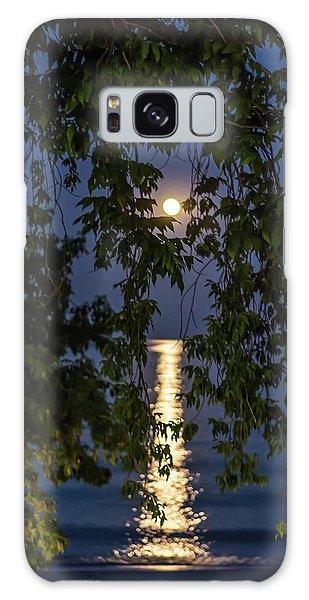 Moon Curtain Galaxy Case