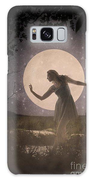Moon Dance 001 Galaxy Case