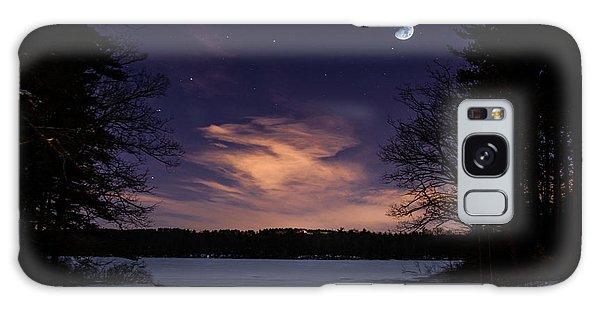 Moon Lake Galaxy Case