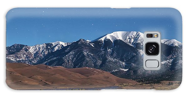 Moon Lit Colorado Great Sand Dunes Starry Night  Galaxy Case by James BO Insogna