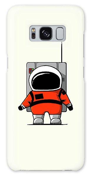 Astronaut Galaxy Case - Moon Man by Nicholas Ely