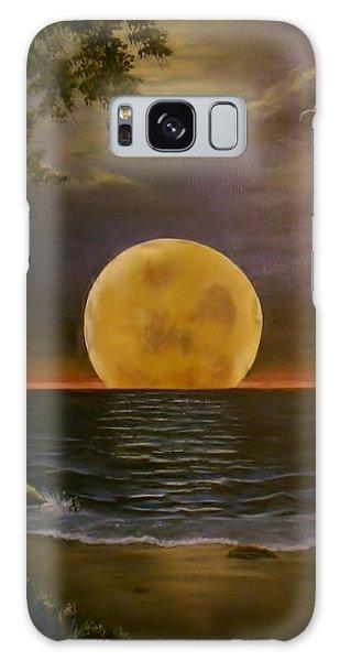 Moon Of My Dreams Galaxy Case