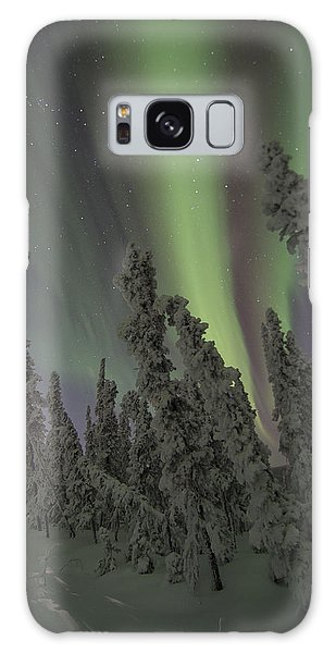 Moon On The Hill Galaxy Case