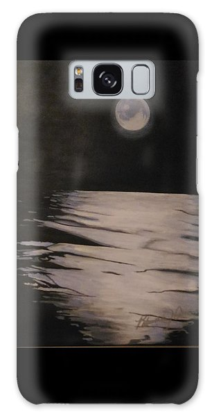 Moon Over The Wedge Galaxy Case