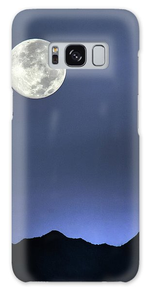 Moon Over Ko'olau Galaxy Case by Dan McManus