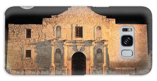 Moon Over The Alamo Galaxy Case