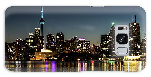 Moon Over Toronto Galaxy Case