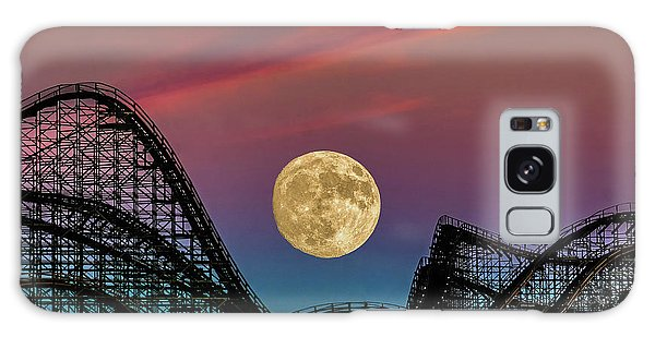 Moon Over Wildwood Nj Galaxy Case