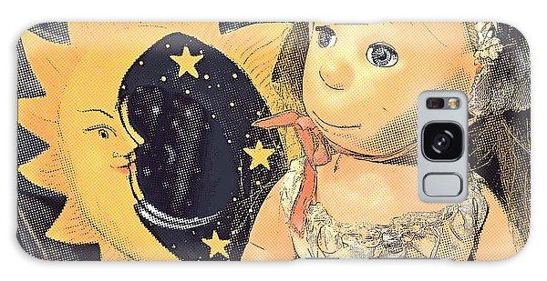 Moon Pearl Galaxy Case