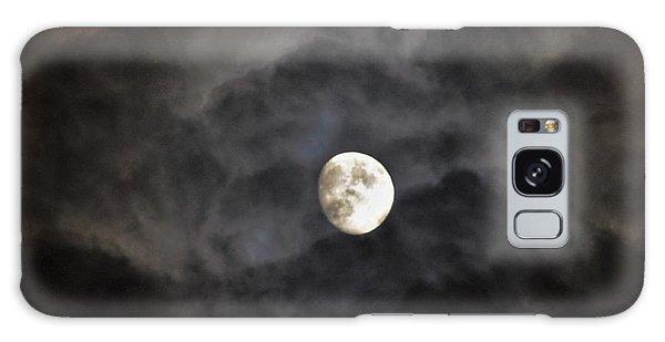 Moon Rise Galaxy Case