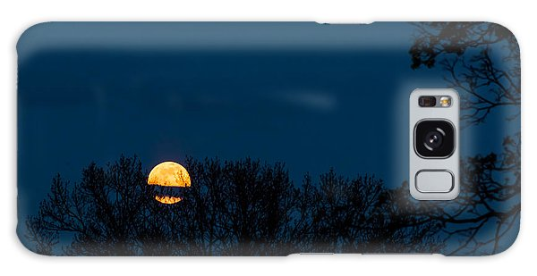 Moon Rising Galaxy Case