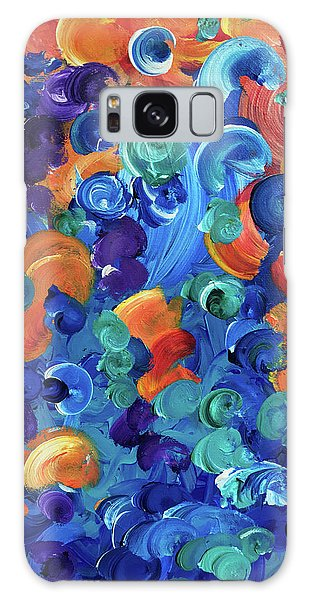 Moon Snails Back To School Galaxy Case
