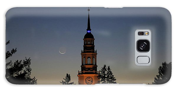 Moon, Venus, And Miller Tower Galaxy Case
