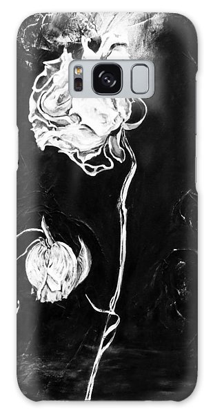 Moonlight And Roses Galaxy Case by Nadine Dennis