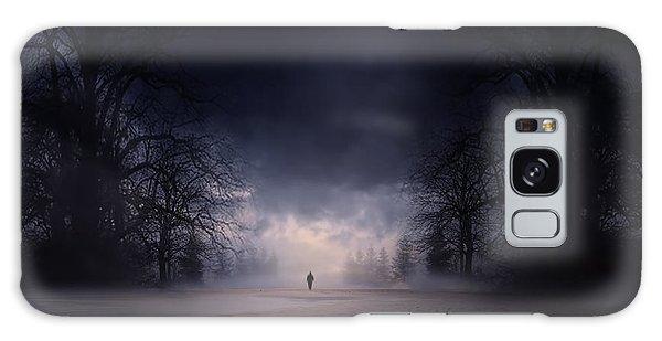 Moonlight Journey Galaxy Case by Lourry Legarde