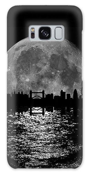 London Eye Galaxy Case - Moonlight London Skyline by Mark Rogan