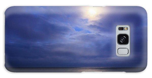 Moonlight On The Ocean At Hatteras Galaxy Case by Joni Eskridge