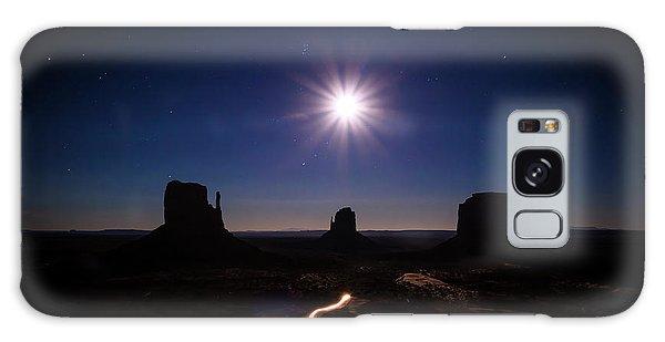 Moonlight Over Valley Galaxy Case