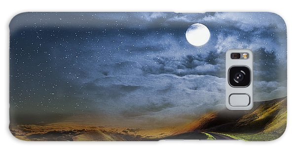 Moonlight Path Galaxy Case by Swank Photography