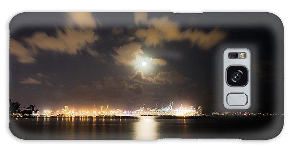 Moonlight Reflections Galaxy Case