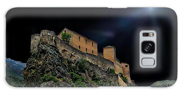 Moonlit Castle Galaxy Case