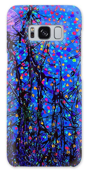 Moonlit Forest Galaxy Case