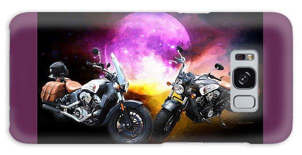 Moonlit Indian Motorcycle Galaxy Case