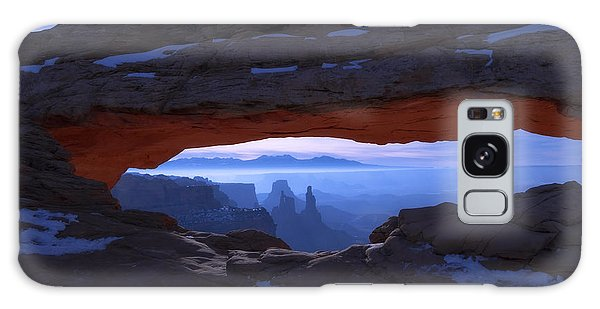 Moonlit Mesa Galaxy Case by Chad Dutson