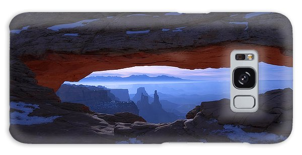 Moonlit Mesa Galaxy Case by Chad Dutson