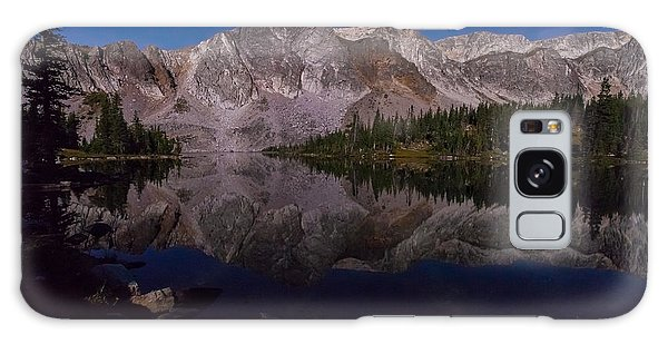 Moonlit Reflections  Galaxy Case by Steven Reed