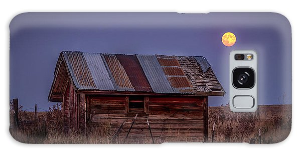 Moonlit Shed Galaxy Case