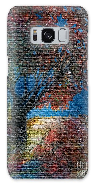 Moonlit Tree Galaxy Case by Denise Hoag