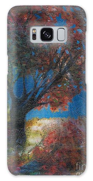 Moonlit Tree Galaxy Case by Denise Hoag